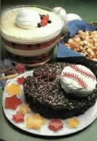 Baseball Mitt Cake