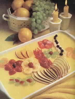 Lemon Fruit Mold Garnish